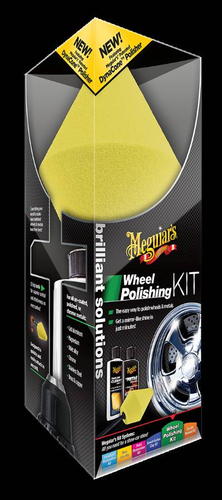Brilliant Solutions Wheel Polishing Kit Metallivanteiden kiilloitus sarja