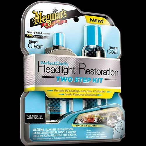 Perfect Clarity Headlight Restoration Kit, ajovalojen puhdistus sarja