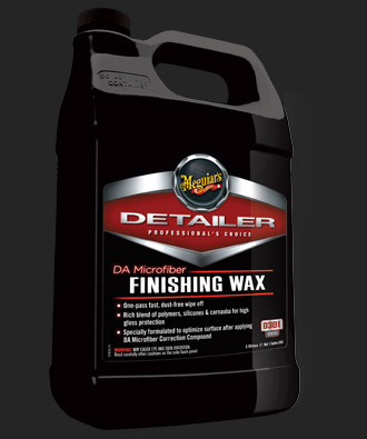 D301 DA Microfiber Finishing Wax